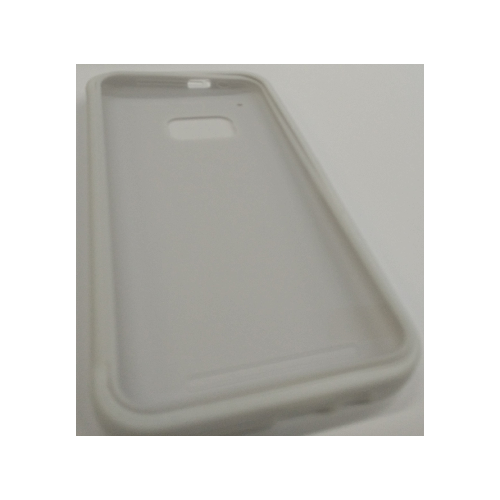 HTC One M9 TPU Gel Case With Flip Cover - White