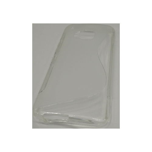 HTC One M9 TPU Gel Case S- Shape - Transparent