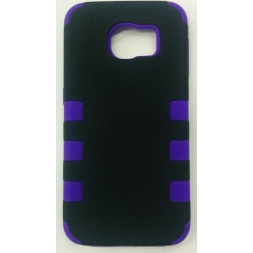 Samsung Galaxy S6 Stripe Case - Purple