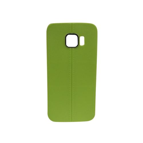 Generic Fitted Soft Shell Case for Samsung Galaxy S6 - Green