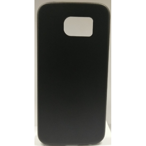 Samsung Galaxy S6 Gel Plain Case - Black