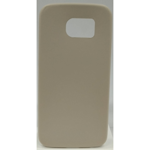 Samsung Galaxy S6 Gel Plain Case - Beige