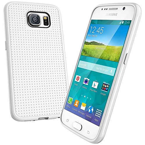 Samsung Galaxy S6 Dotted TPU Case - White