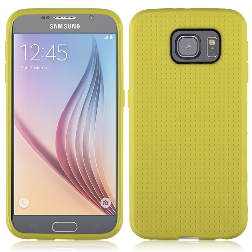 Samsung Galaxy S6 Dotted TPU Case - Yellow