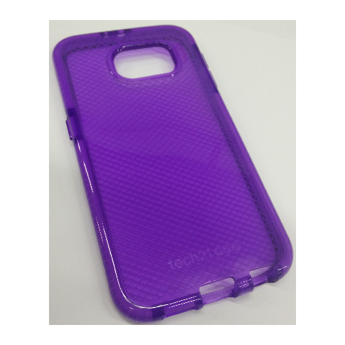 Coque ultra protectrice en gel TPU pour Samsung Galaxy S6 - Violet