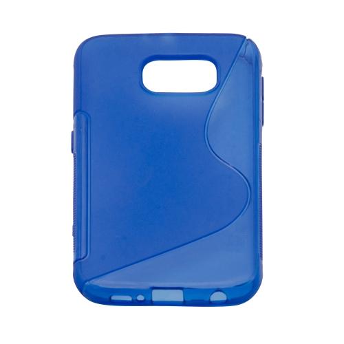 Samsung Galaxy S6 S-Shape Case - Blue