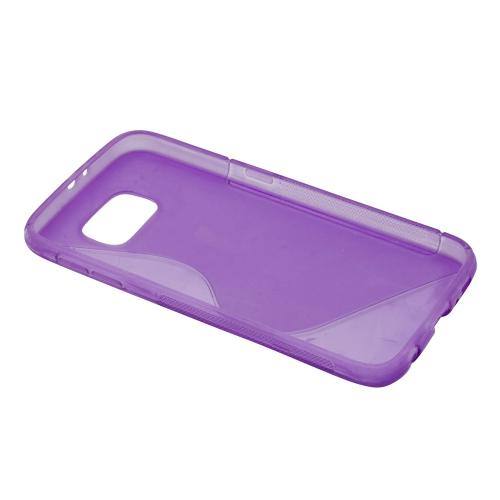 Étui en forme de S pour Samsung Galaxy S6 - Violet