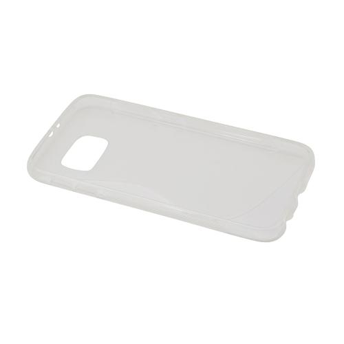 Samsung Galaxy S6 S-Shape Case - Transparent