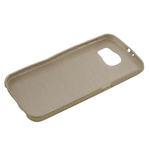 Generic Fitted Hard Shell Case for Samsung Galaxy S6 - Gold