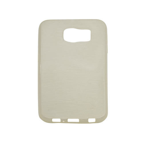Generic Fitted Hard Shell Case for Samsung Galaxy S6 - White