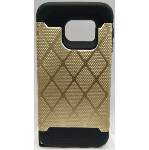 Samsung Galaxy S6 Edge Spotted Diamond Case - Gold