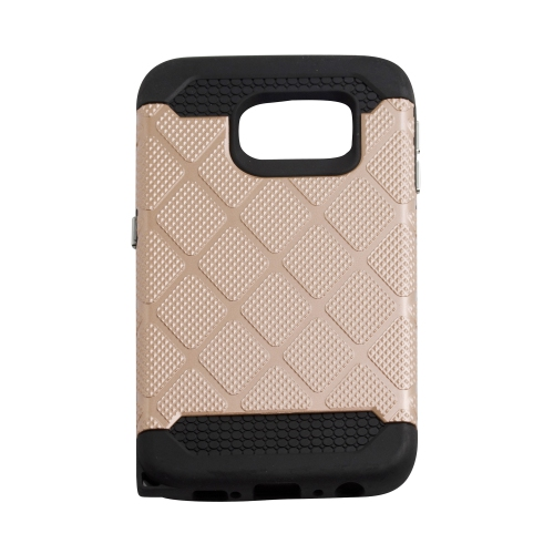 Samsung Galaxy S6 Edge Spotted Diamond Case - Rose Gold