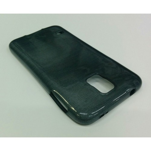 Samsung Galaxy S5 Smudged Pattern Case - Black
