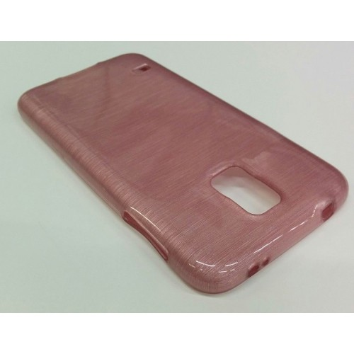 Samsung Galaxy S5 Smudged Pattern Case - Pink