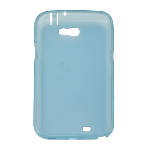 Esource Parts Fitted Hard Shell Case for Samsung Galaxy Note - Blue