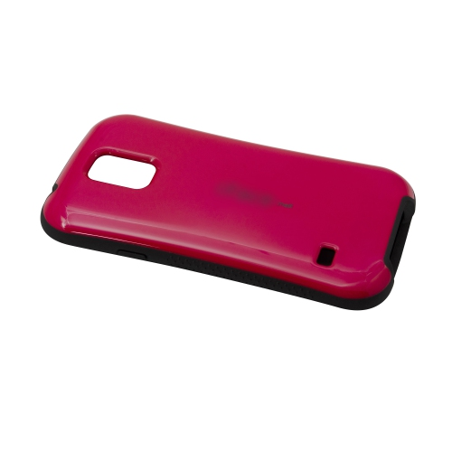 Ultra Shock Absorbing iFace Case Cover Skin For Samsung Galaxy S5 i9600 - Hot Pink