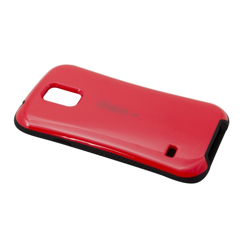 Ultra Shock-Absorbing iFace Case Cover Skin For Samsung Galaxy S5 i9600 - Red