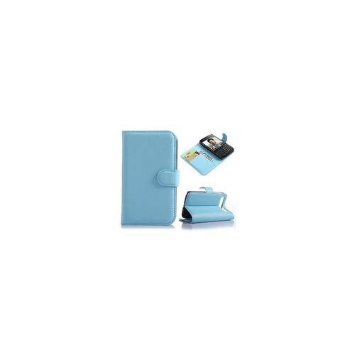 Blackberry Classic Q20 Wallet Style case - Blue