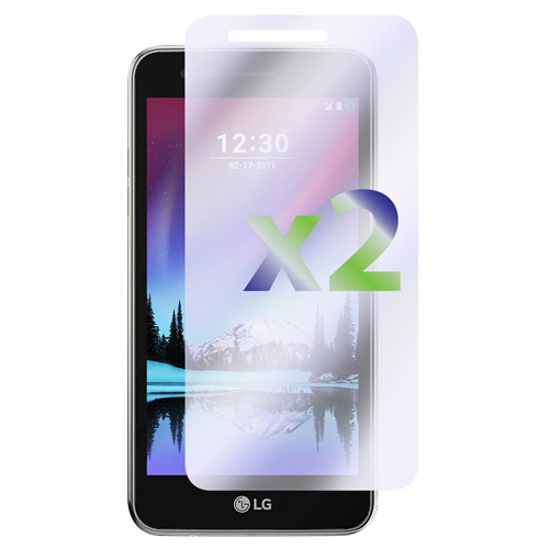 Exian LG K4 2017 Screen Protectors X 2 Anti-Glare