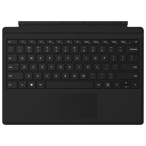 Microsoft Surface Pro Type Adjustable Cover - Black - English