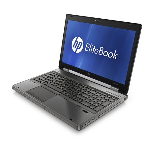 HP ELITEBOOK 8560w I7 2760QM 2.4 GHz 8GB 320GB 15.6W DVD/RW WIN 10 PRO WEBCAM 1YR - Refurbished