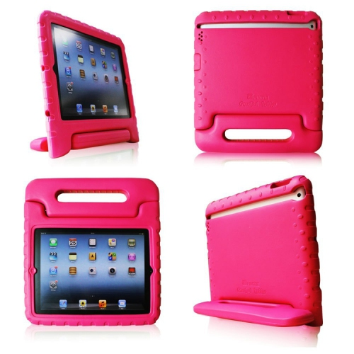 Kids Proof Safe Foam Shock Proof Handle Case (kidbox) Cover for iPad Mini - Hot pink