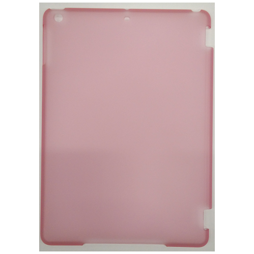 iPad Air (iPad 5) Hard Shell Back Transparent Cover Case - Pink