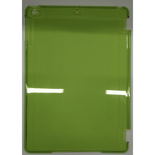 iPad Air 1 Hard Shell Back Transparent Cover Case - Green