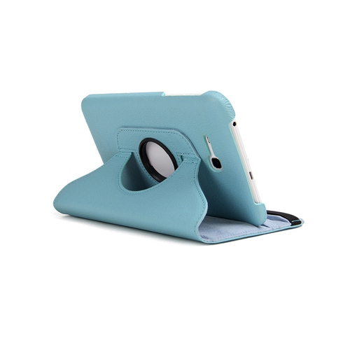 Samsung Galaxy Tab 3 Lite T110 T111 Rotating Case - Blue