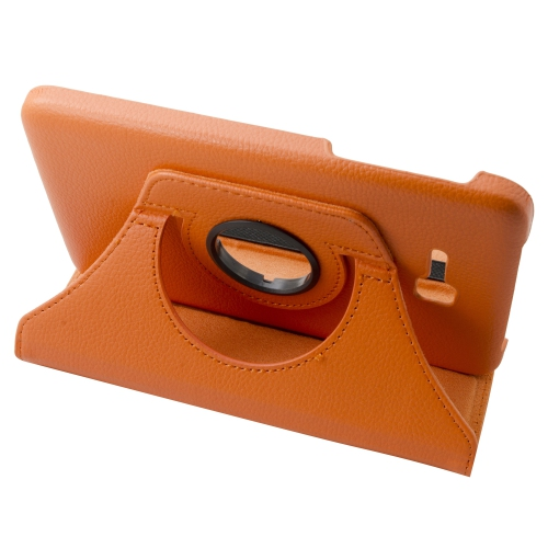 Samsung Galaxy Tab 3 Lite T110 T111 Rotating Case - Orange