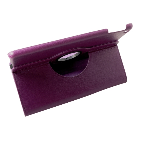 iPad 6 Air 2 360 Rotating Case - Purple