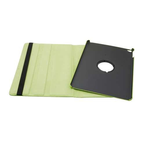 """360 Degree Rotating PU Leather Case Smart Cover Stand For Apple iPad 9.7"""" 2017/2018 /iPad Air 2 - Green"""
