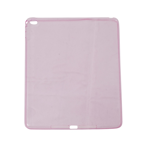 Ipad Air 2 Soft Gel TPU Transparent Case - Pink