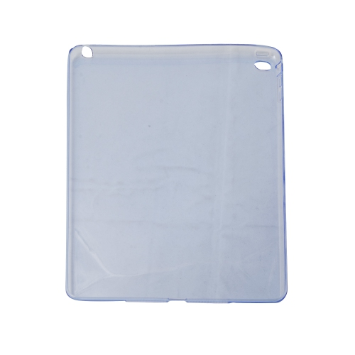 "Etui transparent TPU en gel souple pour Apple iPad 9.7"" 2017/2018 /iPad Air 2 - Bleu"
