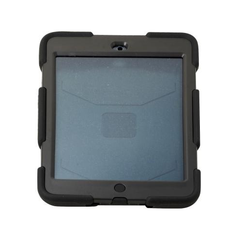 Heavy Duty Shockproof Case W/ Stand for Apple Ipad Mini 1 / 2 - Black