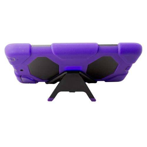 Heavy Duty Shockproof Case W/ Stand for Apple Ipad Mini 1 / 2 - Purple
