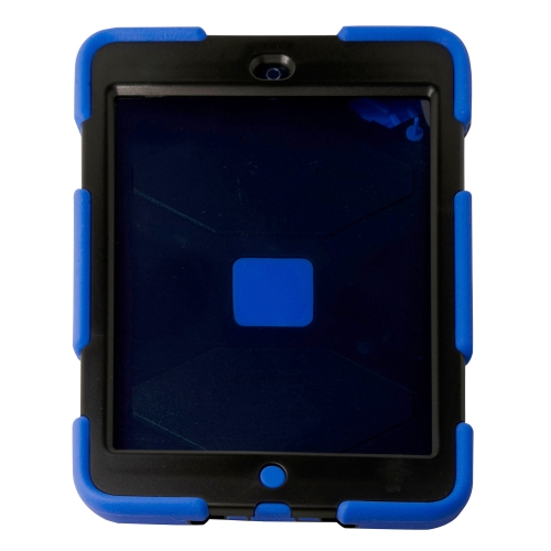 Heavy Duty Shockproof Case W/ Stand for Apple Ipad Mini 1 / 2 - Blue
