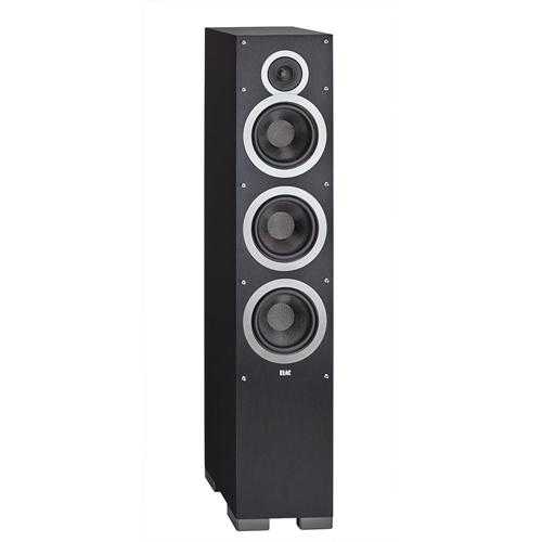 ELAC Surround Floorstanding Home Speaker, Set of 1, Black (DF61-BK)