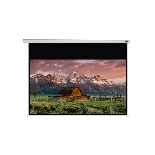 "Elunevision 92"" 16:9 Juno Motorized Screen - White"