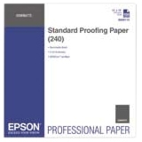 Epson Proofing Paper - 13 X 19 Ft - 240 G/m Grammage - Semi