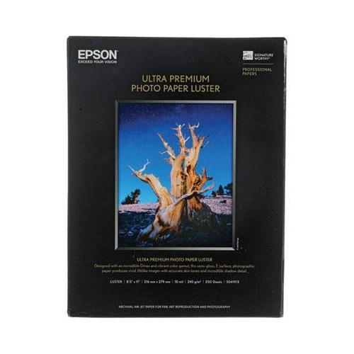 Epson Premium Photo Paper - Letter - 8.50 X 11 - Luster -