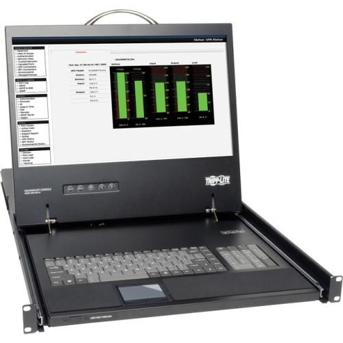 Tripp Lite Rack Console Kvm Cable Kit W/ 19 Lcd Ps/2 1u Taa