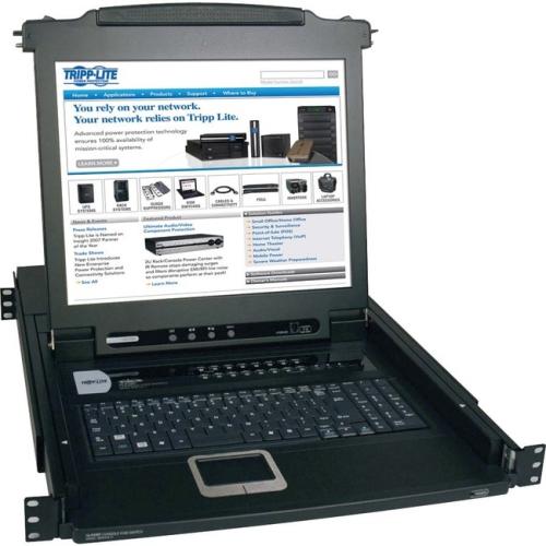Tripp Lite B020-016-17 16-port 1u Console Kvm Switch -