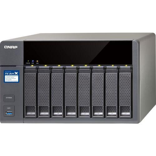 Qnap Turbo Nas Ts-831x San/nas Server - Annapurna Labs