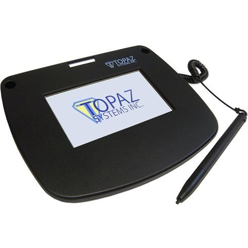 Topaz Siglitecolor T-lbk43lc-bsb-r Signature Pad -
