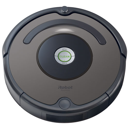 aspirateur robot roomba 635 d 39 irobot argent. Black Bedroom Furniture Sets. Home Design Ideas
