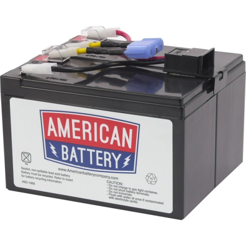 Abc Rbc48 Replacement Battery - 7000 Mah - 12 V Dc - Sealed