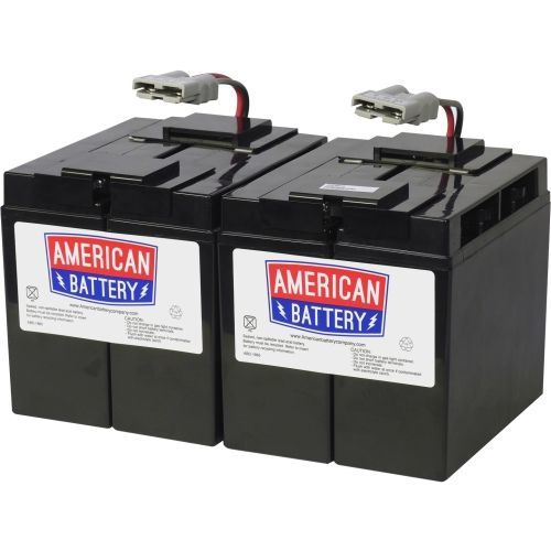 Abc Ups Replacement Battery Rbc 55 - 18000 Mah - 12 V Dc -