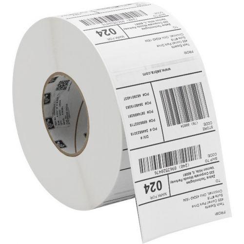Zebra Dt 3.5 Mil Receipt Paper (4.375 X 645') (0.75 Core)