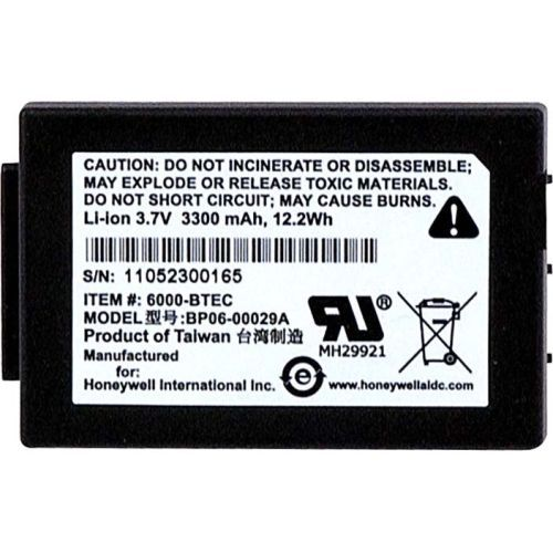 Honeywell Mobile Computer Battery - 3300mah - 3.7v Dc